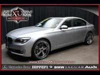 Made use of 2013 BMW 740i One Owner. Stk No: 13190-.