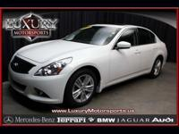 Used 2011 Infiniti G37 Journey One Owner. Stock No: