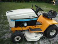 1320 Cub Cadet,12.5 HP KOHLER, 38' cut, has new