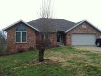 Great location, brick & Vinyl exterior. 3 bedroom
