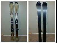 I got these skis a couple of weeks ago off ksl for my