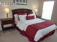 This fully furnished 1 bedroom apartment is in a