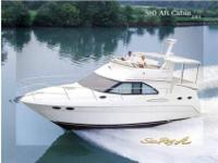 2001 Sea Ray 38 AFT CABIN Low Hours. Super Spacious Aft
