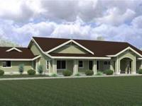 Custom home in a Great location with land. Porches in