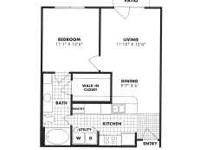 This one bedroom unit is one of the best in the