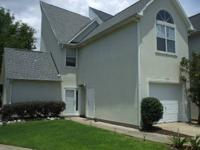 Town Home has open floor plan , with living area ,