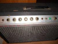 Up for sale is a rare '73 Heath TA-16 combo, which was