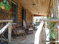 Rustic Hand Built Cabin In Maggie Valley with Creek &