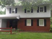 Four bedroom colonial. Estate, one owner home. Updated