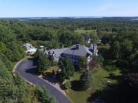 Fabulous estate with elevated views over Yarmouth,