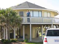 Beach home for rent (North Topsail), can see beach from