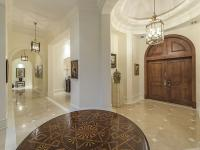 From the moment you enter this custom-built estate, the