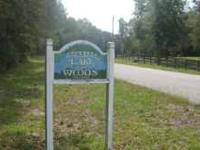 Almost 2 acres Deed Restricted , Lake front lot. Homes