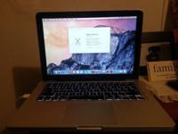 "13"" Apple MacBook Pro. Fantastic Condition this is the"