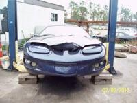 1999 FIREBIRD BASE COUPE BLUE W T TOPS, 3.8L SWEET