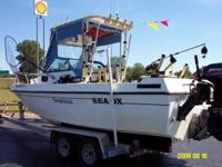 2000 Sea Ox 23' Walk Around Cabin Now reduced to