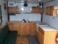 Great for bunkhouse on lake or hunting trailer with