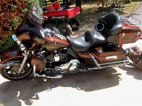 Its a 2009 ULTRA CLASSIC ELECTRA GLIDE, 28,000 Miles.