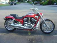The 2006 VRSCSE2 Screaming Eagle V-Rod developed by the
