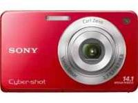I have a red 14.1 megapixel cybershot digital camera