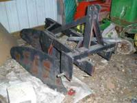 """Like New -Nice 14"""" Plow, 2 Bottom! Could be Category 1"""