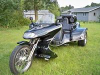 2003 V-cycle Roadhawk (made by The Trike Shop in White
