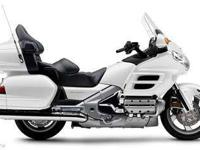 2006 HONDA GOLD WING, White, luxury touring. the