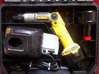 Selling used Dewalts Drill, the drill works fine,