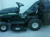 14.5 HP YARD MACHINE 42 INCH DECK 7 SPEED, NEW STARTER,