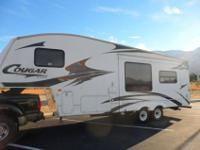 2006 276 EFS COUGAR TRAVEL TRAILER. one SLIDE OUT IN