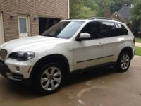 2007 BMW X5 4.8i in like new condition with low miles.