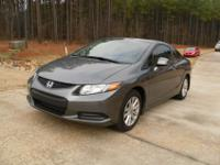 2012 Honda Civic EX Sport Coupe28 City / 39 HighwayOnly
