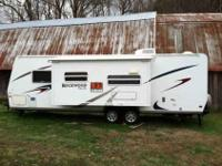 2007 Rockwood ultra light travel trailer with kitchen