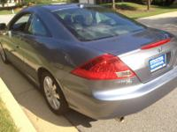 2007 Honda Accord EX-L, V6 Coupe. Fully loaded. Heated