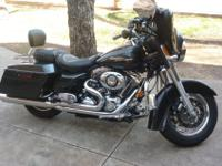 2007 Harley Street Glide, One Owner, Lots of extras.