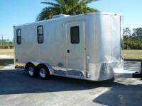 2012 TOY HAULER BY AERO INDUSTRIES. THE MOST COMPACT