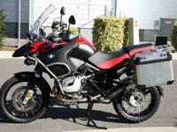 This 2009 BMW R1200GSA is a one owner bike that has all