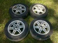 I have a set of 4 aftermarket wheels and tires... there