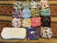 I have 13 used Alva baby for 2 month cloth diapers . 1