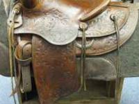 "14"" Buck Steiner Saddle Beautiful Little Saddle Ready"
