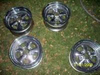 I got here a set of 14'' Cragers for sale. They are in