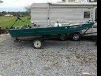 I have a 14' flat bottom sea star boat. It comes with:
