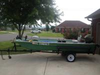 I have for sale a 14 foot 1979 Tomboy boat that is in