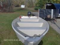 Great little fishing boat used ounce. This unit is a