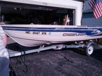 14' Crestliner V-haul , like new. Excellent condition.