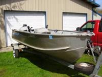 14 ft. Sea Nymph aluminum boat with 14 h.p. Evinrude