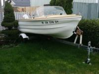 Have a 14 foot boat that I'm selling It runs strong