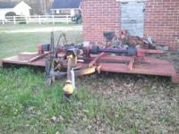 FS is a 14 ft flat deck bush-hog rotary mower.
