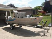 14 ft deep v Sea Nymph w/trailer Including... 15 HP