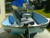For sale boat motor and trailer mix. prepared to go